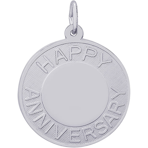 Happy Anniversary Disc Charm