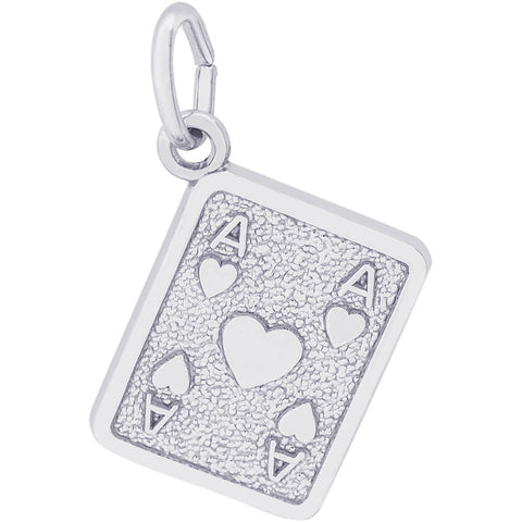 Ace Of Hearts Charm