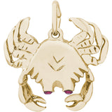 Crab With Stones Charm - Rembrandt Charms - 2