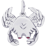 Crab With Stones Charm - Rembrandt Charms - 1