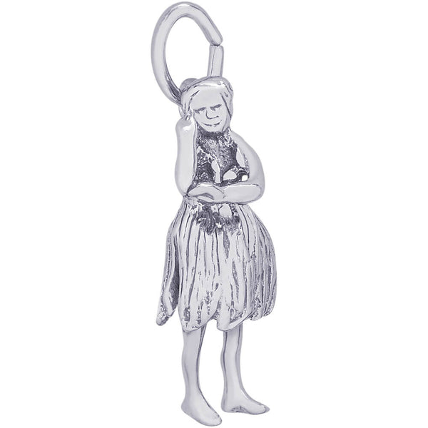 Hawaiian Dancer Charm