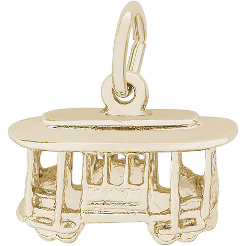 Cable Car Trolley Charm