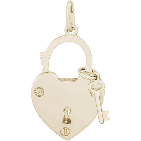 Locked With Love Charm