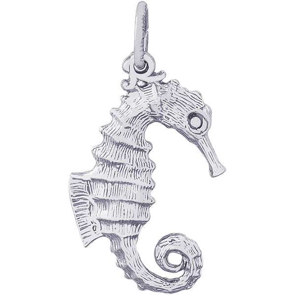 Curly Tail Seahorse Charm