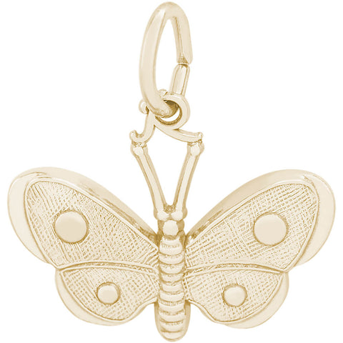 Spotted Wings Butterfly Charm
