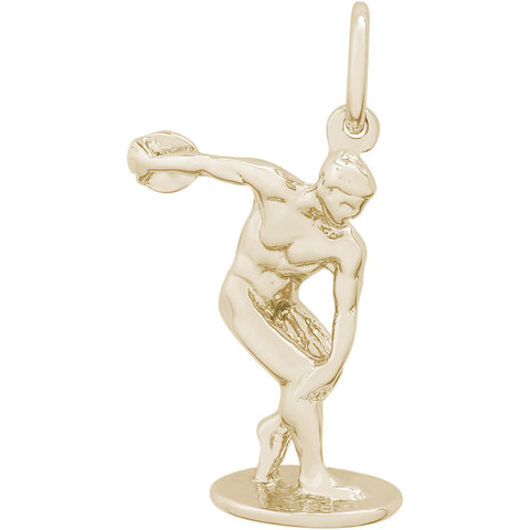 Discus Thrower Charm