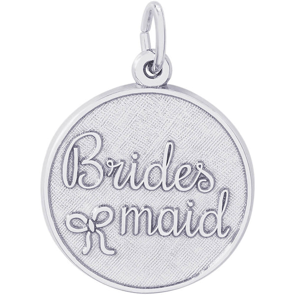 Bridesmaid Disc Charm