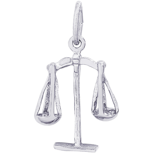 Scales Of Justice Charm