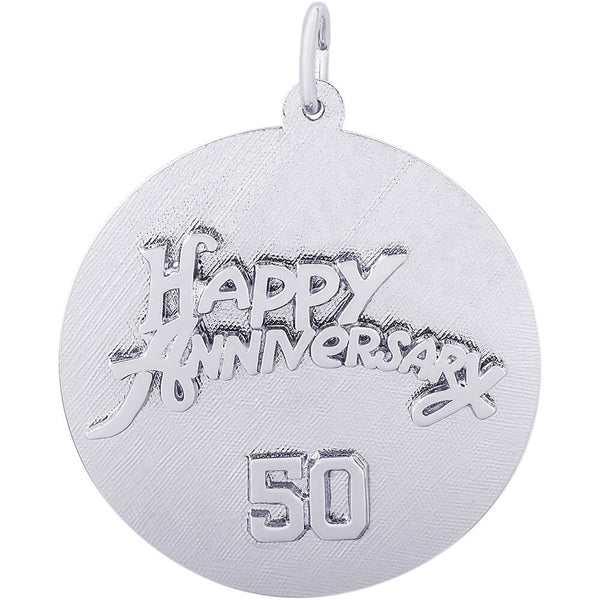 Fiftieth Anniversary Disc Charm