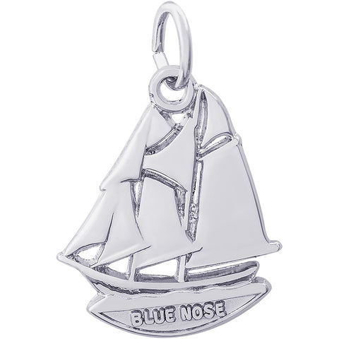 Blue Nose Nova Scotia Ship Charm