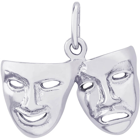Comedy & Tragedy Masks Charm