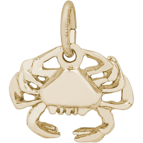 Crab Accent Charm