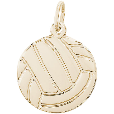 Flat Volleyball Charm