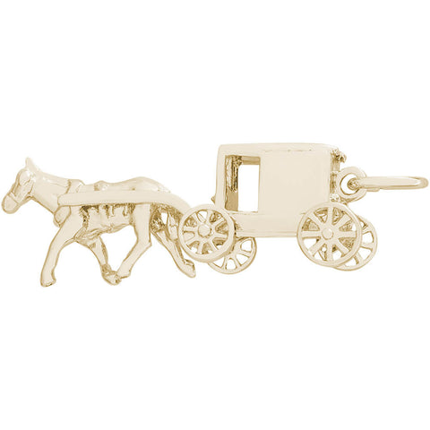 Amish Wagon Charm