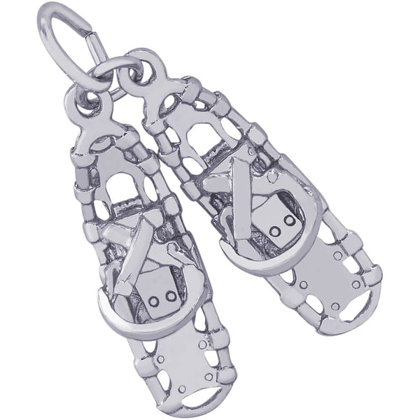 Snow Shoes Charm
