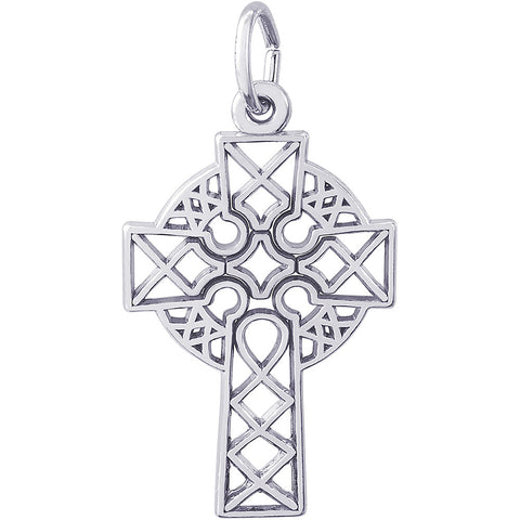 Ornate Celtic Cross Charm