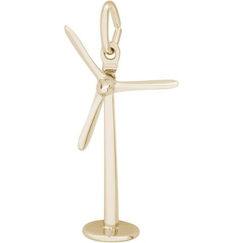 Energy Windmill Charm