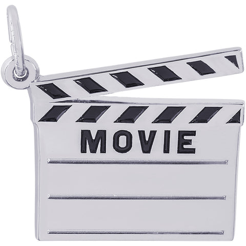 Movie Clap Board Charm