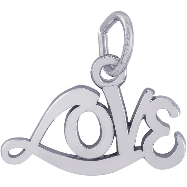 Signed With Love Charm