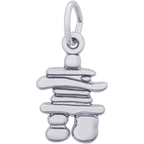 Inukshuk Accent Charm