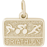 Triathlon Charm - Rembrandt Charms - 2