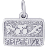 Triathlon Charm - Rembrandt Charms - 1