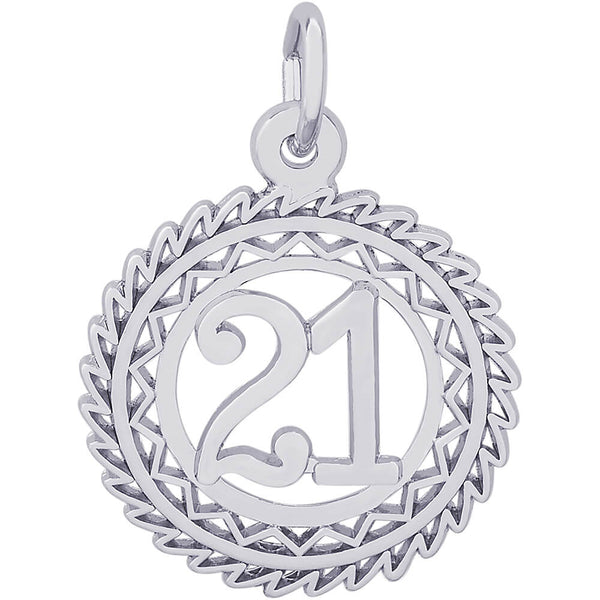 Victory Number Twenty One Charm