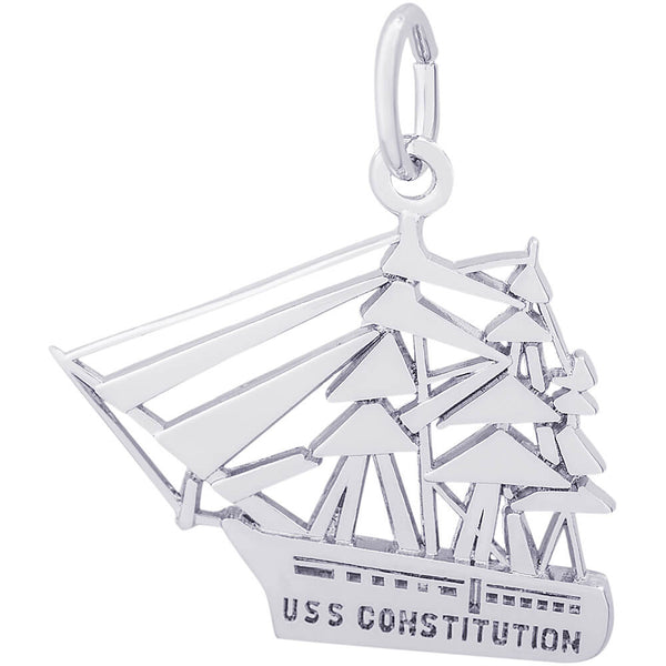 USS Constitution Charm