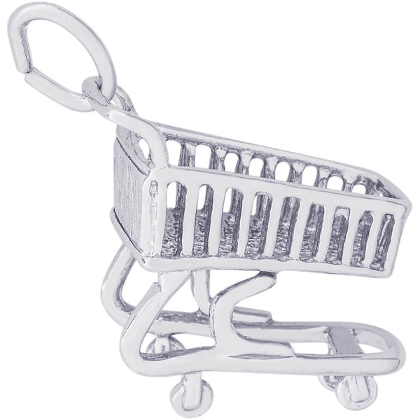 Shopping Cart Charm