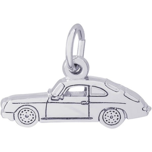 Flat Classic German Sports Car Charm