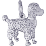 Poodle Dog Charm - Rembrandt Charms - 1