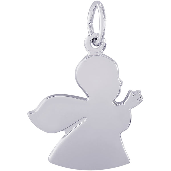 Large Guardian Angel Charm