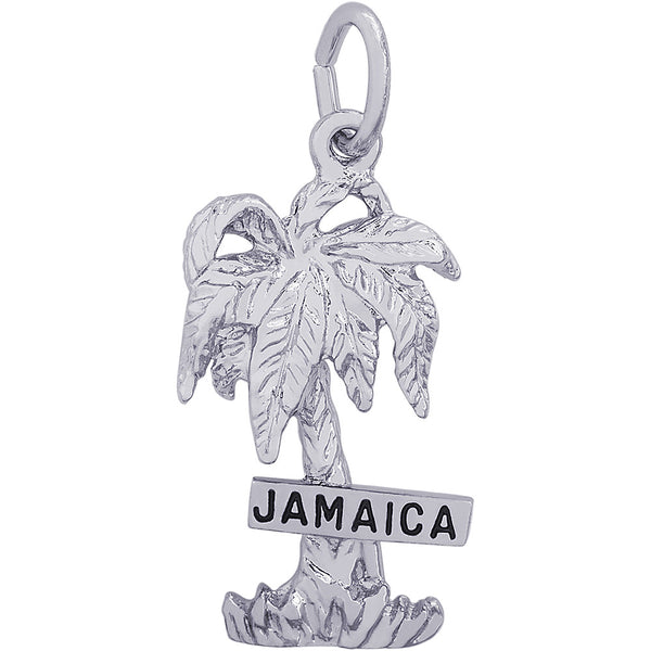 Jamaica Palm Tree Charm