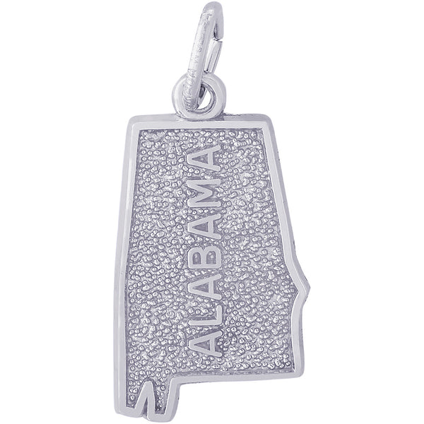 Alabama Map Charm