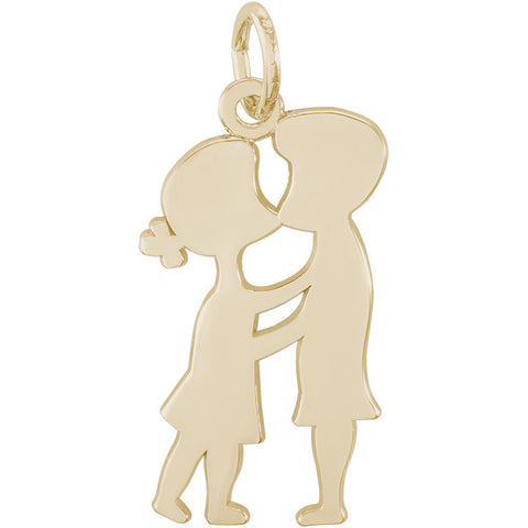 Kissing Couple Charm