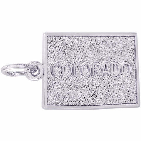 Colorado Map Charm