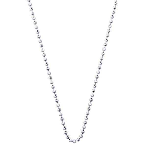 Ball Chain Necklace - 1.5mm