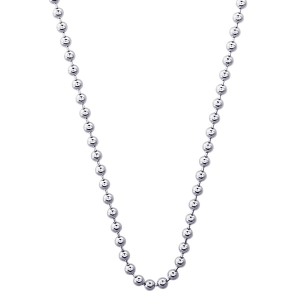 BALL CHAIN NECKLACE 2.2MM - Rembrandt Charms
