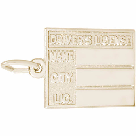 Drivers License Charm