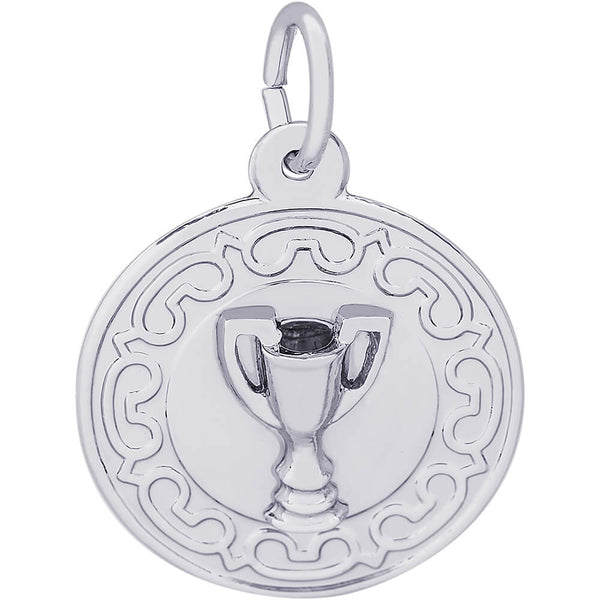 Trophy Disc Charm