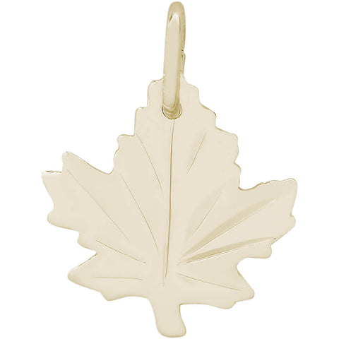 Medium Maple Leaf Charm