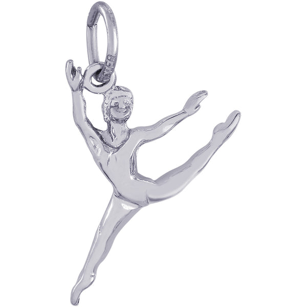 Leaping Ballet Dancer Charm