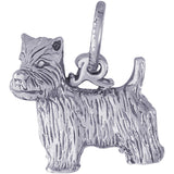 West Highland Terrier Dog Charm - Rembrandt Charms - 1