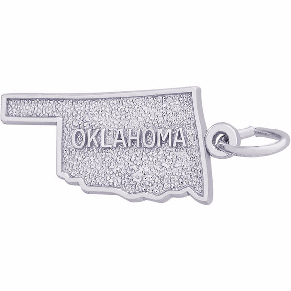 Oklahoma Map Charm