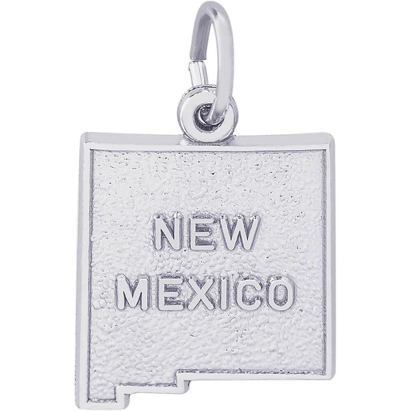 New Mexico Map Charm