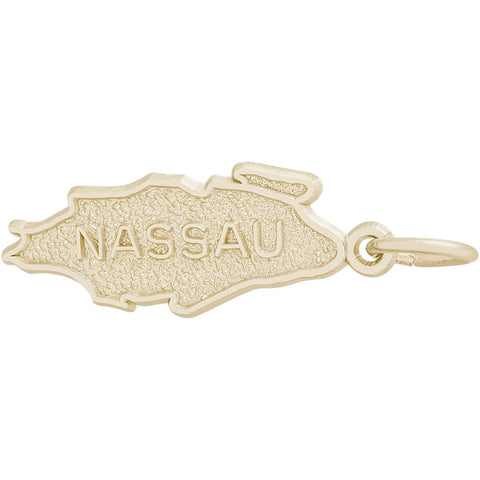 Nassau Map Charm