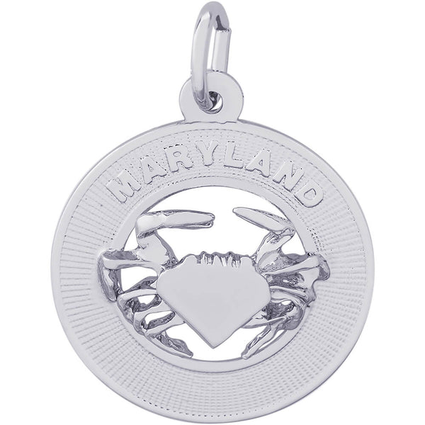 Maryland Crab Ring Charm
