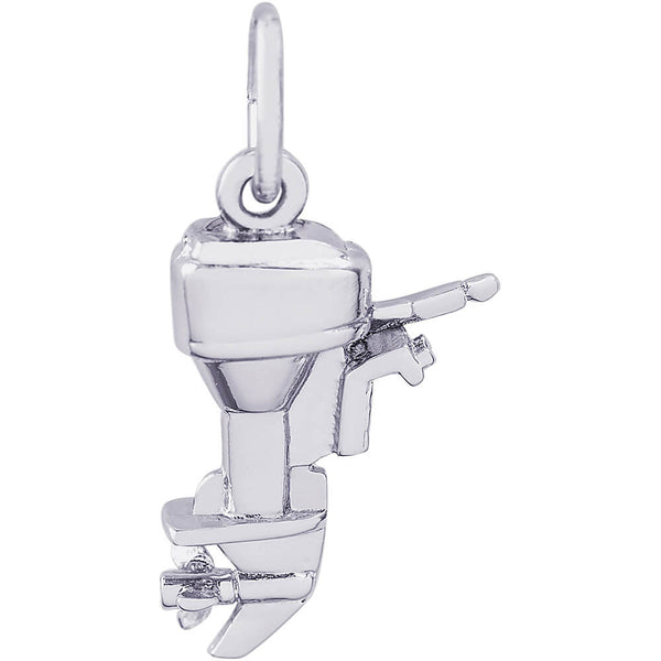 Outboard Boat Motor Charm