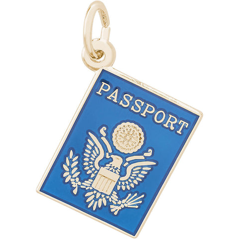 United States Passport Charm