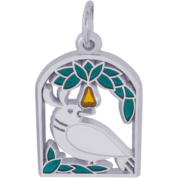 A Partridge In A Pear Tree Charm